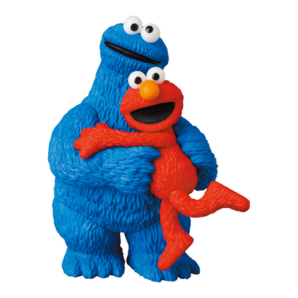 UDF SESAME STREET シリーズ 2 ELMO & COOKIE MONSTER