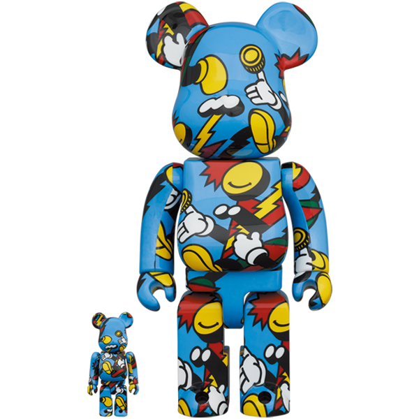 BE@RBRICK GRAFFLEX 100% & 400%