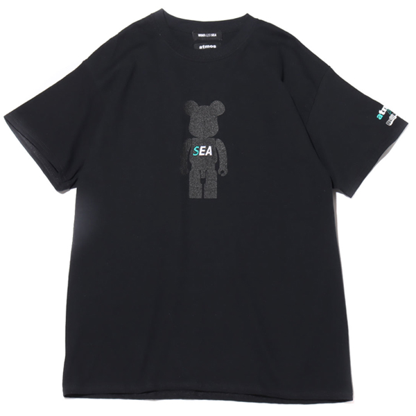 BE@RBRICK x atmos x WIND AND SEA BE@R TEE
