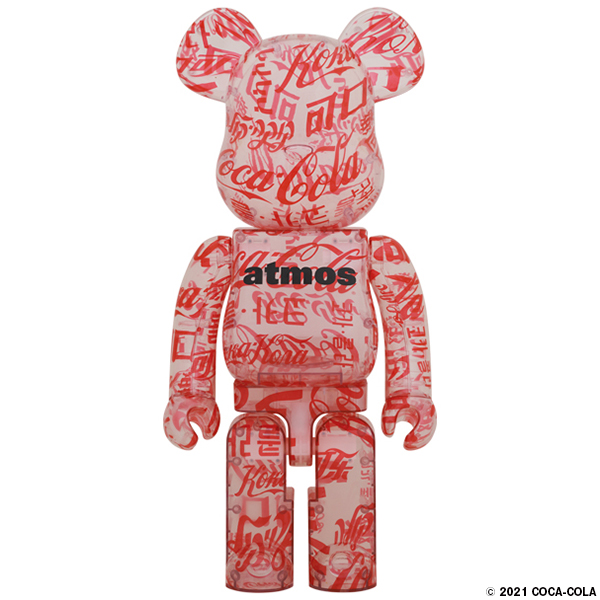 atmos × Coca-Cola 1000% CLEAR BODY