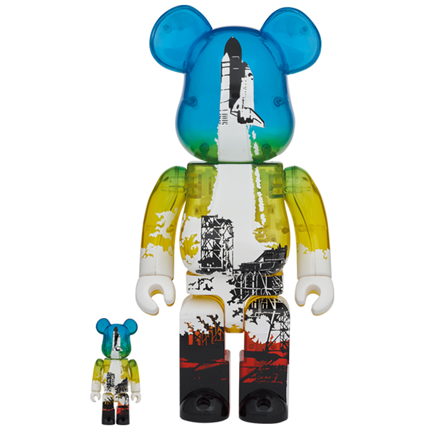 SPACE SHUTTLE BE@RBRICK LAUNCH Ver. 100% & 400%  / 4月1日(木)より抽選開始