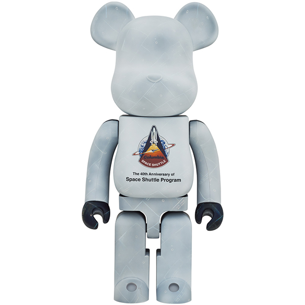 SPACE SHUTTLE BE@RBRICK 1000%