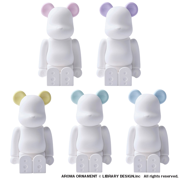 BE@RBRICK AROMA ORNAMENT  No.0 COLOR SWEET  SUGAR PINK/SUGAR PURPLE/SUGAR YELLOW/ SUGAR MINT/SUGAR BLUE