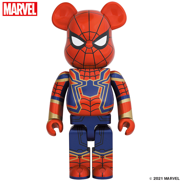 BE@RBRICK IRON SPIDER 1000%