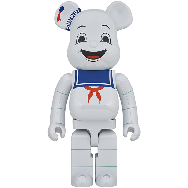 BE@RBRICK STAY PUFT MARSHMALLOW MAN WHITE CHROME Ver. 1000%