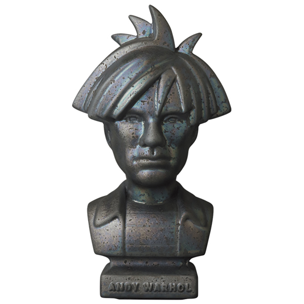 CERAMICK Andy Warhol Bust 80s