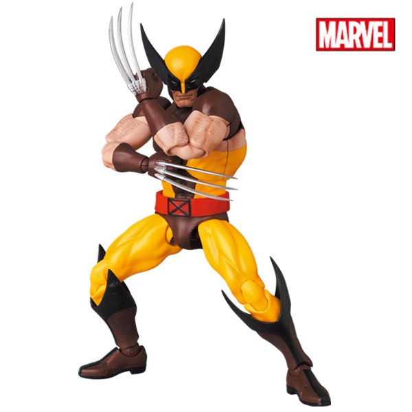 MAFEX No.138 WOLVERINE(BROWN COMIC Ver.)