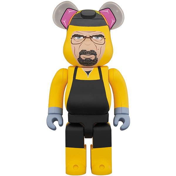 BE@RBRICK Breaking Bad Walter White (Chemical Protective Clothing Ver.) 1000%