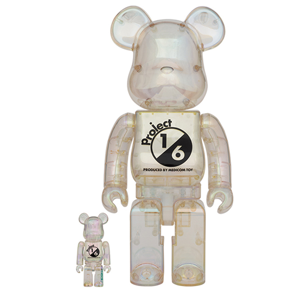 BE@RBRICK project 1/6 100% & 400% CLEAR CHROME Ver.