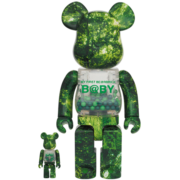 MY FIRST BE@RBRICK B@BY FOREST GREEN Ver. 100% & 400%