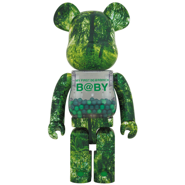 MY FIRST BE@RBRICK B@BY FOREST GREEN Ver. 1000%