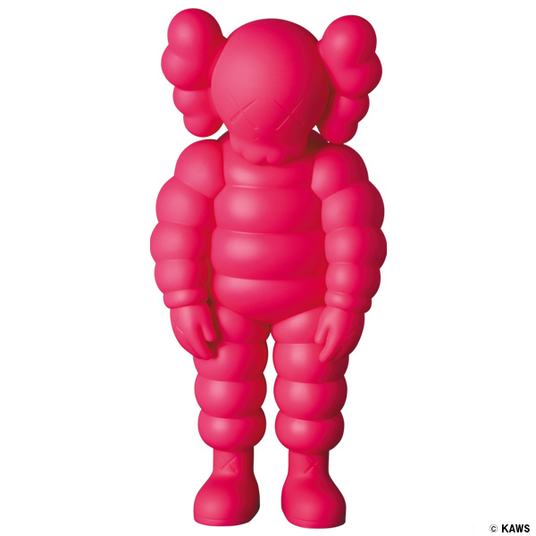 #13 KAWS WHAT PARTY PINK