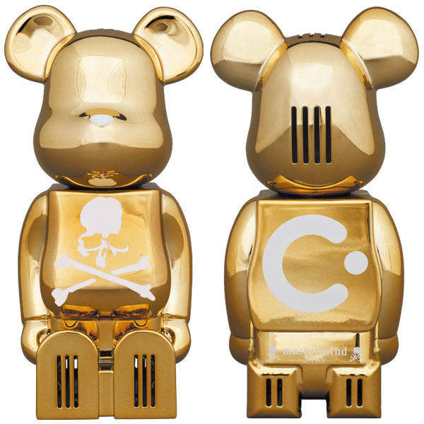 cleverin®︎ BE@RBRICK mastermind JAPAN