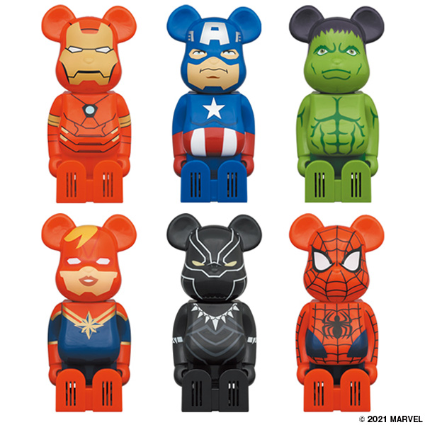 Cleverin BE@RBRICK MARVEL