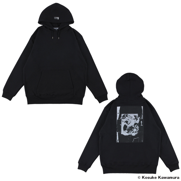 """PULLOVER HOODED """"MULTIPLE HANDS"""""""