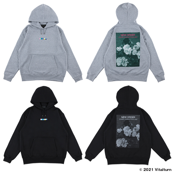 """PULLOVER HOODED """"POWER, CORRUPTION & LIES"""""""