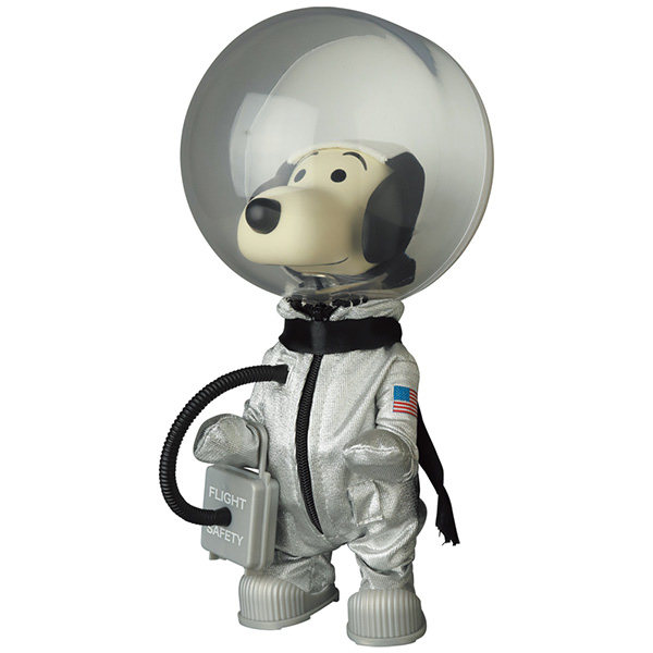 VCD SNOOPY (ASTRONAUT VINTAGE SILVER Ver.)