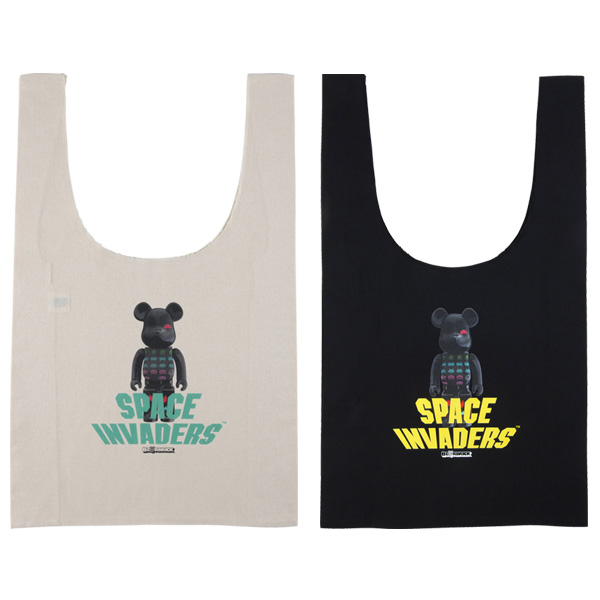 MLE SPACE INVADERS シリーズ SHOPPING BAG