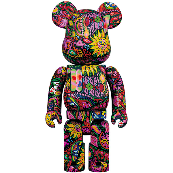 BE@RBRICK Psychedelic Paisley 1000%